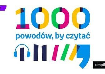 """10 000 książek dla bibliotek szkolnych od Empiku. Rusza akcja """"1000 powodów, by czytać"""""""