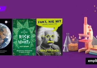 10 książek popularnonaukowych, od których się nie oderwiesz!