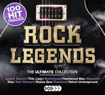 100 Hits Rock Legends-Rainbow, Thin Lizzy, Moore Gary, Kreator, Helloween, UFO, Scorpions, Marilyn Manson, Uriah Heep, Asia, Anthrax, Fleetwood Mac, Status Quo