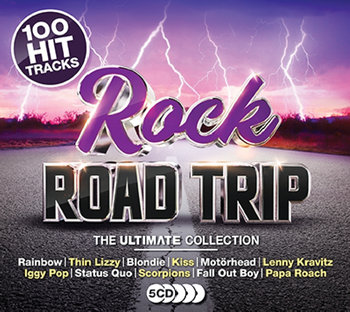 100 Hits Rock Road Trip Ultimate Collection-The Allman Brothers Band, Uriah Heep, Lynyrd Skynyrd, The Cure, Thin Lizzy, Scorpions, Moore Gary, Stereophonics, Rainbow, Nazareth, Status Quo