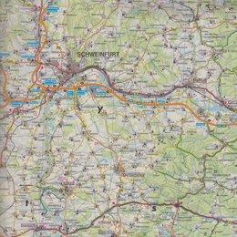 Mapa bawaria Mapa