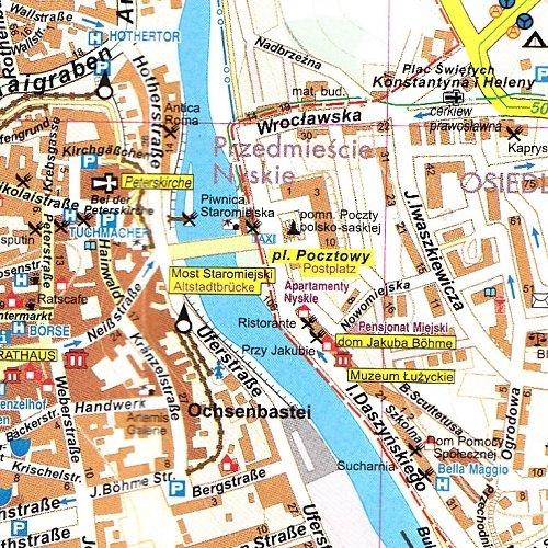 Zgorzelec Plan Miasta 1 11 000 Powiat Zgorzelecki Mapa