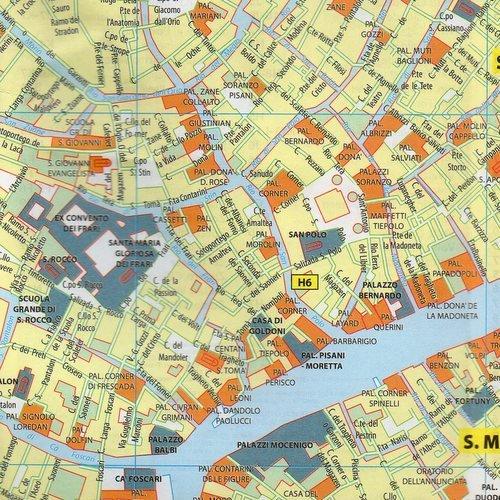Wenecja Mapa 1 5 500 Ksiazka W Sklepie Empik Com