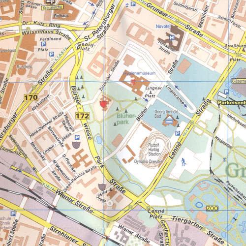 Drezno Mapa 1 12 000 Opracowanie Zbiorowe Ksiazka W Sklepie