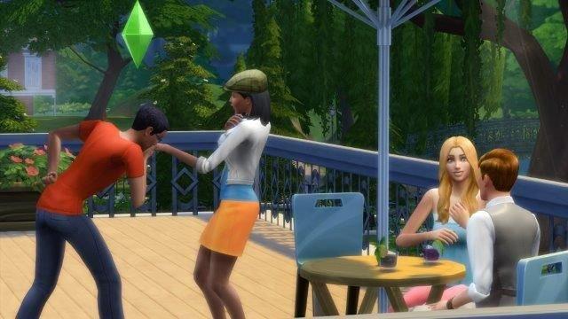 Sims poziomy relacji towarzyskich