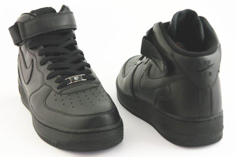 przedstawianie bardzo popularny moda Nike, Buty męskie, Air Force 1 Mid 07, rozmiar 44 1/2