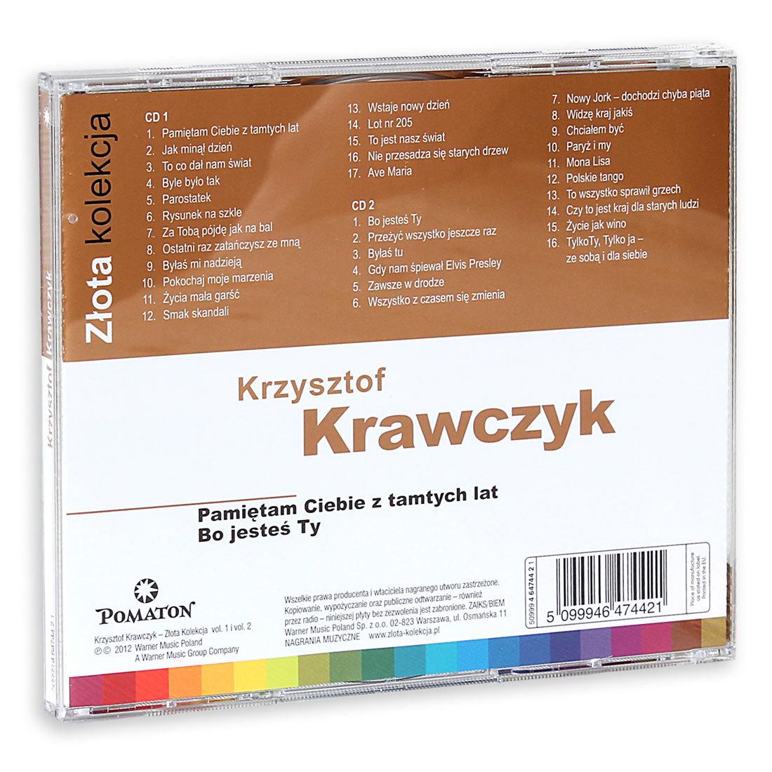 Zlota Kolekcja Pamietam Ciebie Z Tamtych Lat Bo Jestes Ty Krawczyk Krzysztof Muzyka Sklep Empik Com