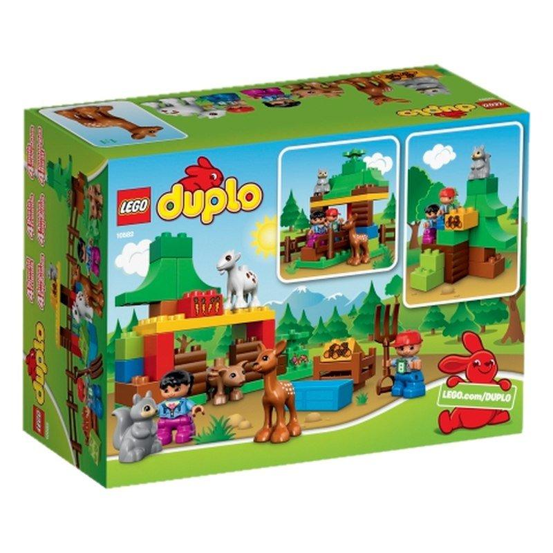 LEGO DUPLO, klocki Leśne zwierzęta, 10582 Lego | Sklep