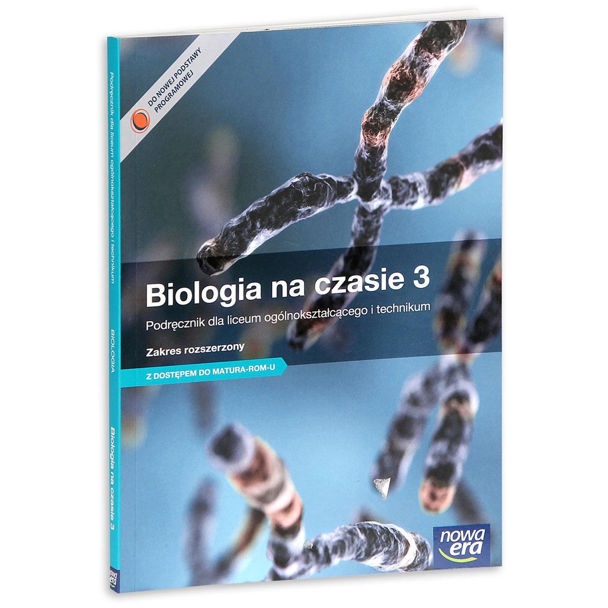 biologia na czasie 3 e podręcznik