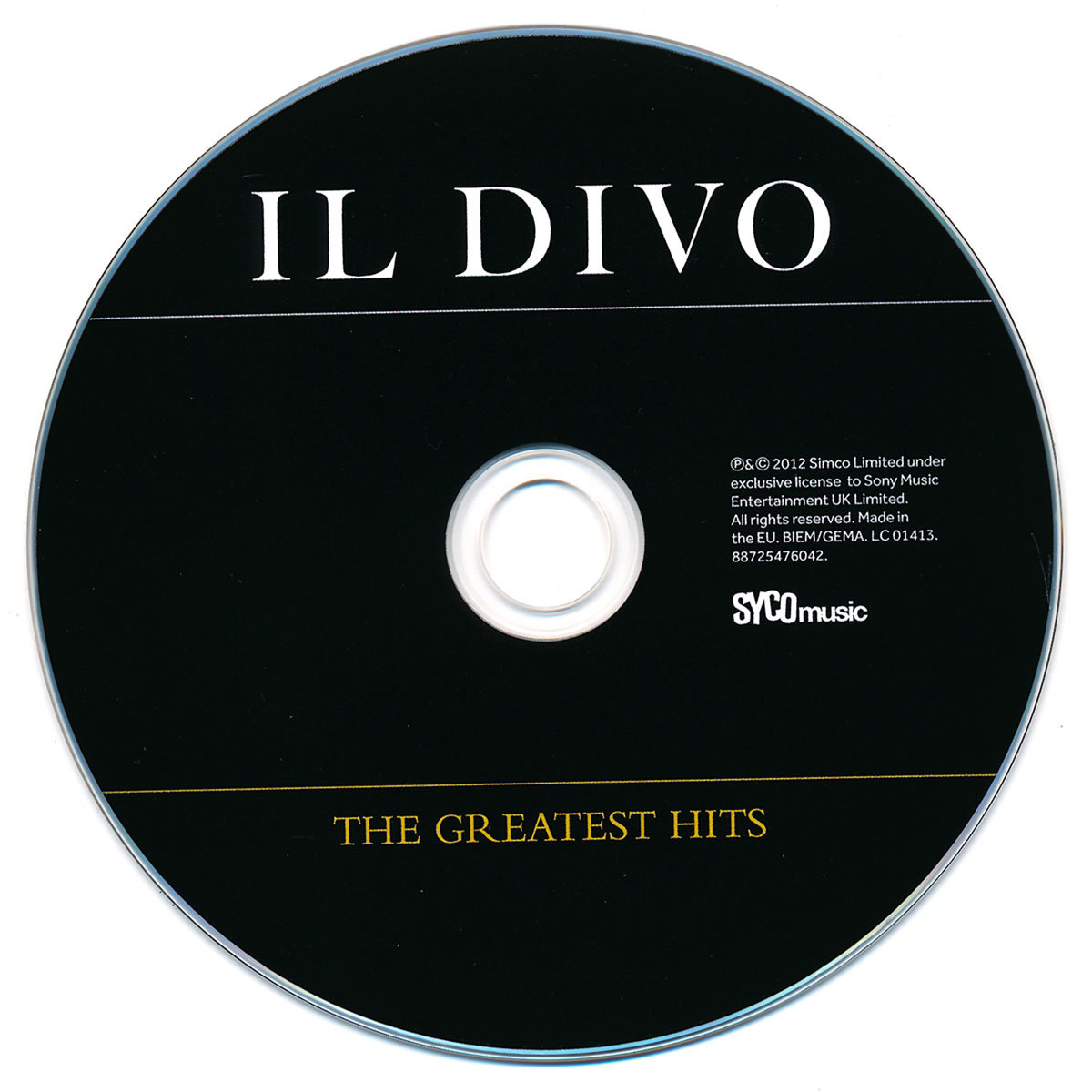 The greatest hits il divo muzyka sklep empik com - Il divo greatest hits ...