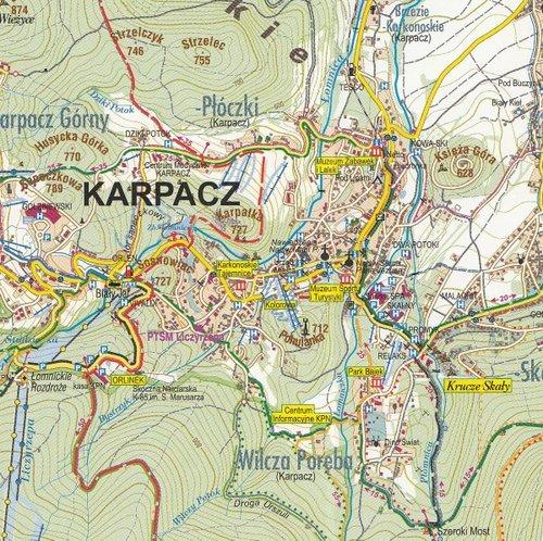 Karpacz Mapa 1 7 500 Ksiazka W Sklepie Empik Com