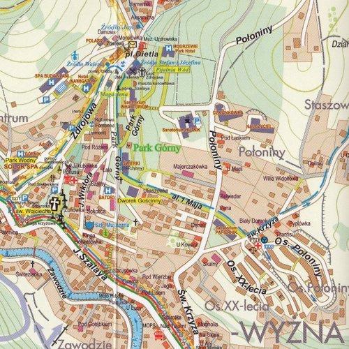 Szczawnica Pieniny Mapa 1 10 000 1 25 000 Ksiazka W