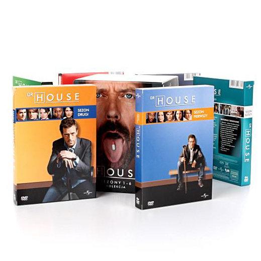 Dr house sezony 1 6 dvd shore david filmy sklep empik com Dr house sklep