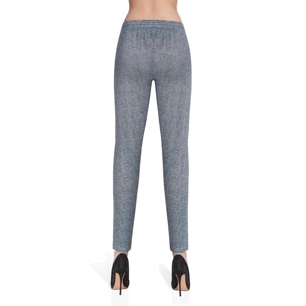 00a320e361bd1e Bas Black, Spodnie fitness damskie, Grace, czarno-białe, rozmiar M ...