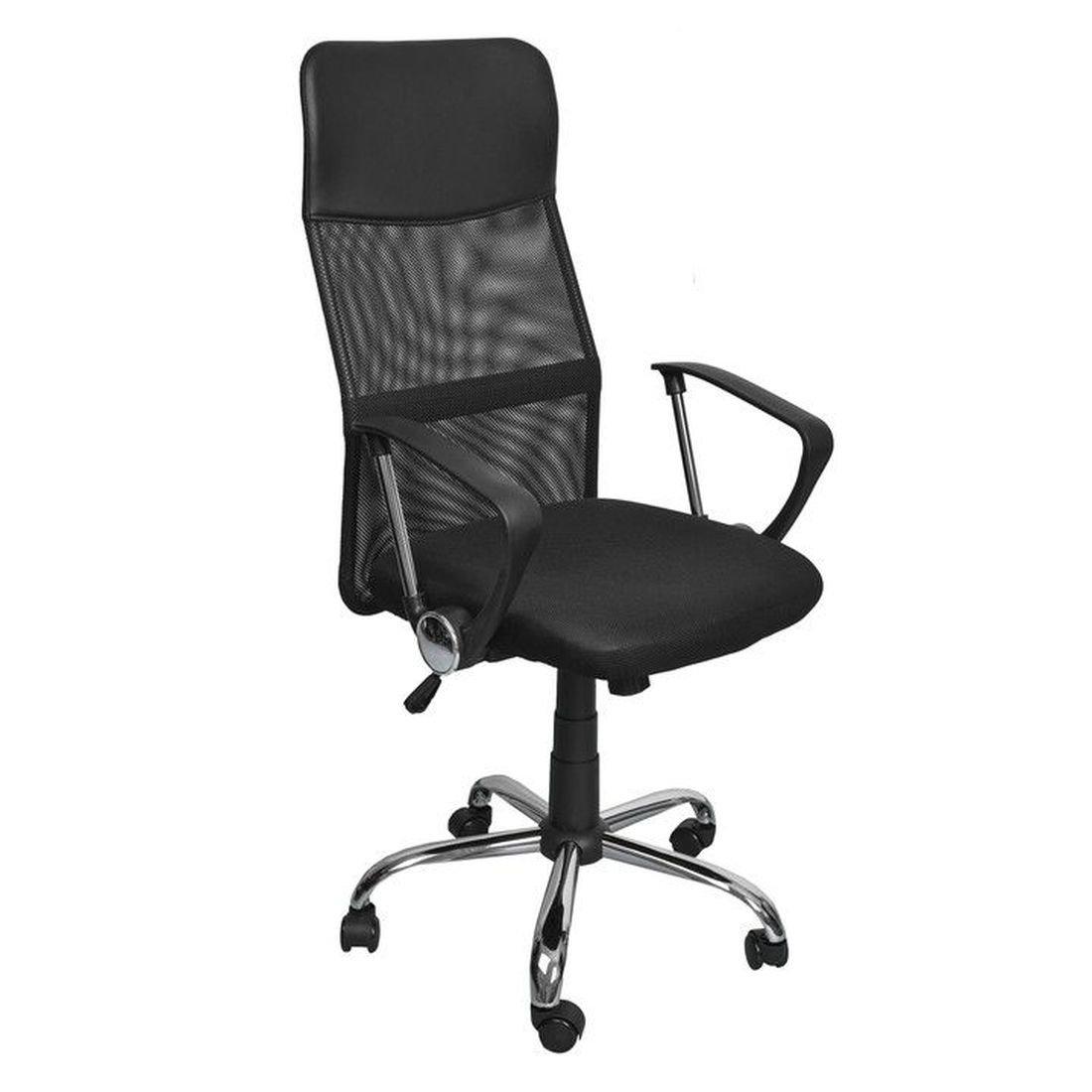 Fotel biurowy obrotowy GOODHOME 8774, czarny Goodhome