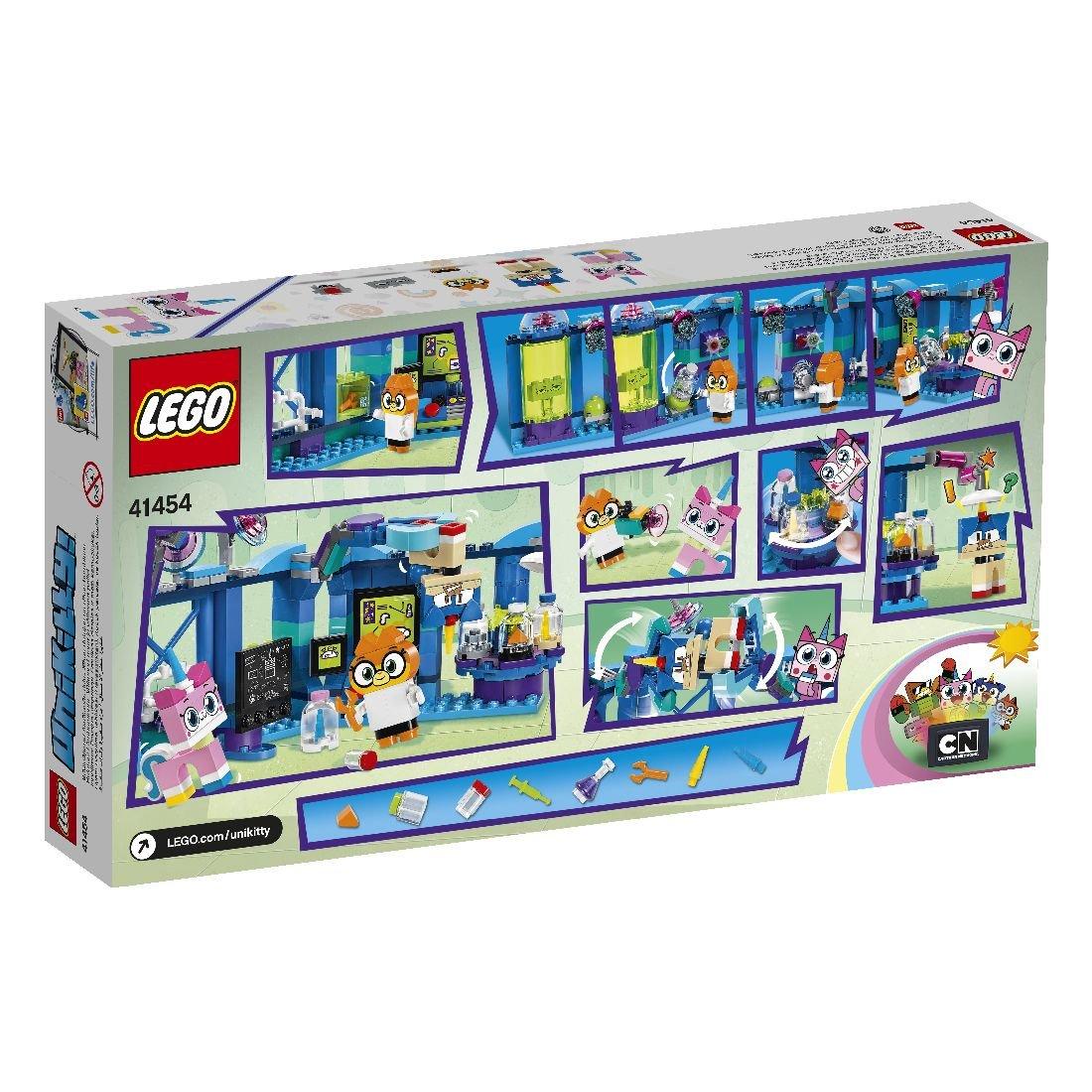 LEGO Unikitty, klocki Laboratorium dr Lisiczki, 41454
