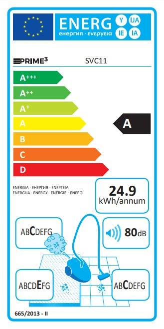 Odkurzacz cyklonowy PRIME3 SVC11, 800 W Prime3   AGD Sklep