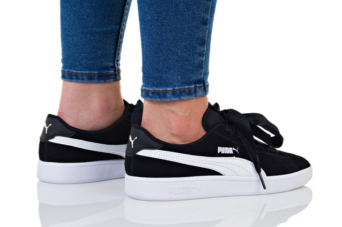 Buty adidasy puma damskie czarne róż Galeria zdjęć i