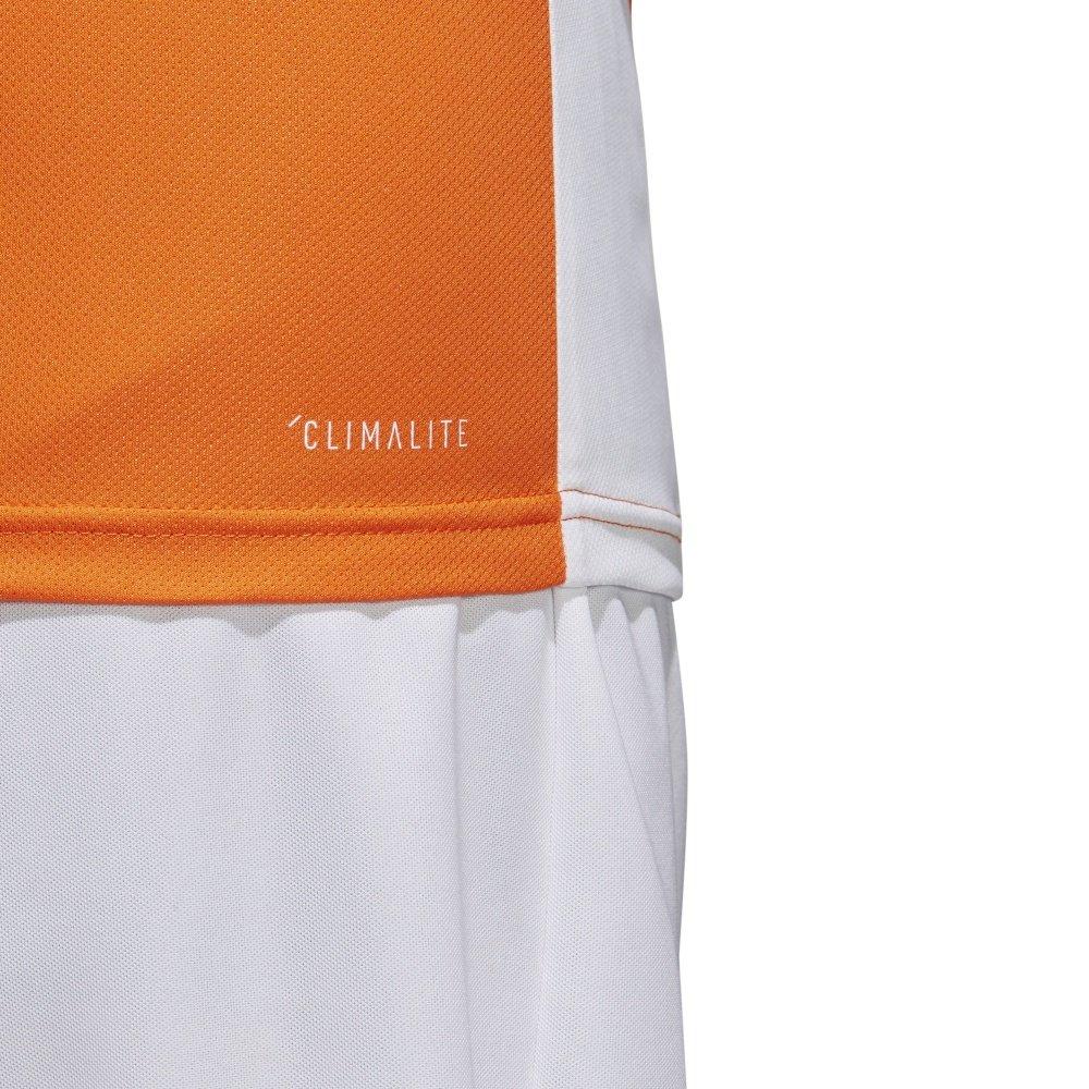 Koszulka dziecięca adidas Entrada 18 pomarańczowa piłkarska