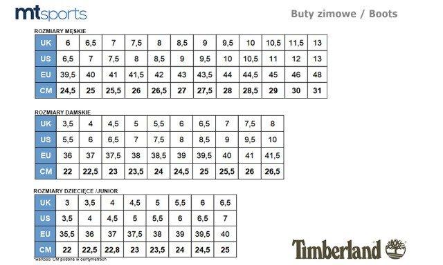 Timberland, Buty trekkingowe damskie, Classic Premium, rozmiar 36