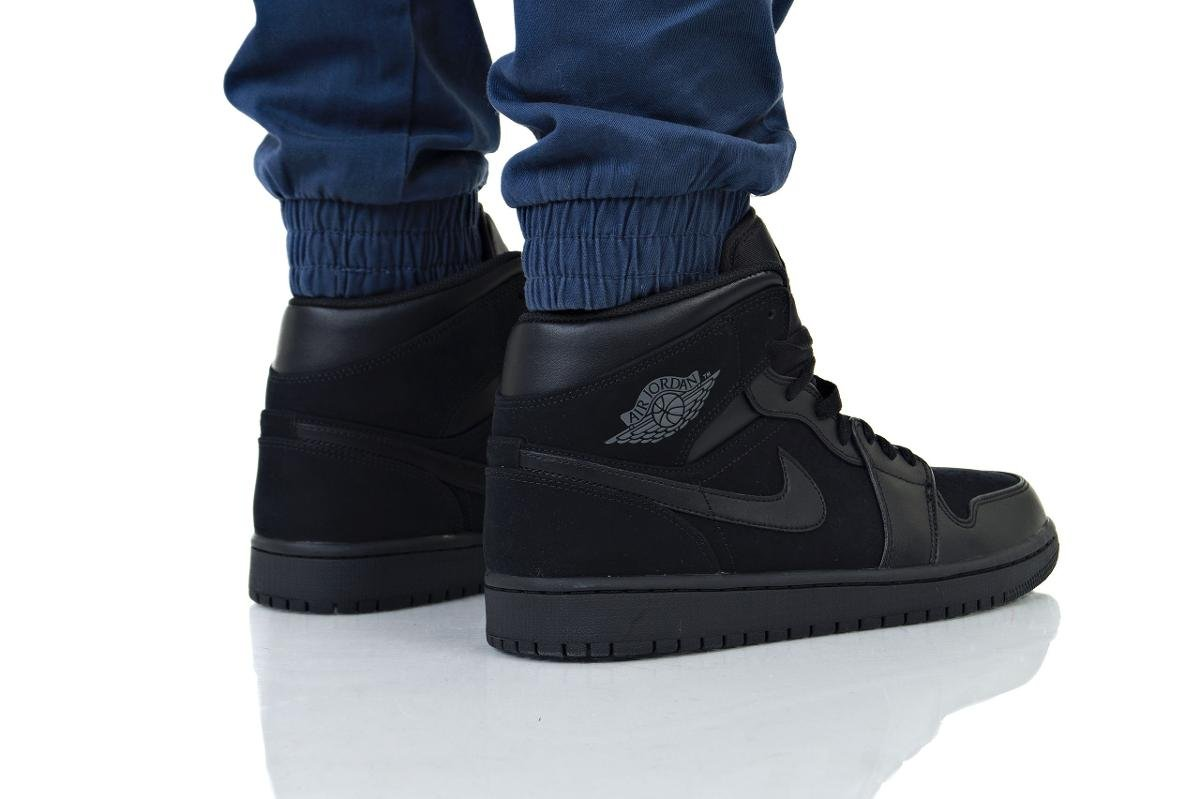 nowe wydanie oficjalne zdjęcia eleganckie buty Nike, Buty męskie Air Jordan 1 Mid, rozmiar 45 1/2