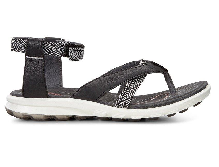 Sandały Damskie | Ecco Cruise Czarny | Tania Sprzedaż