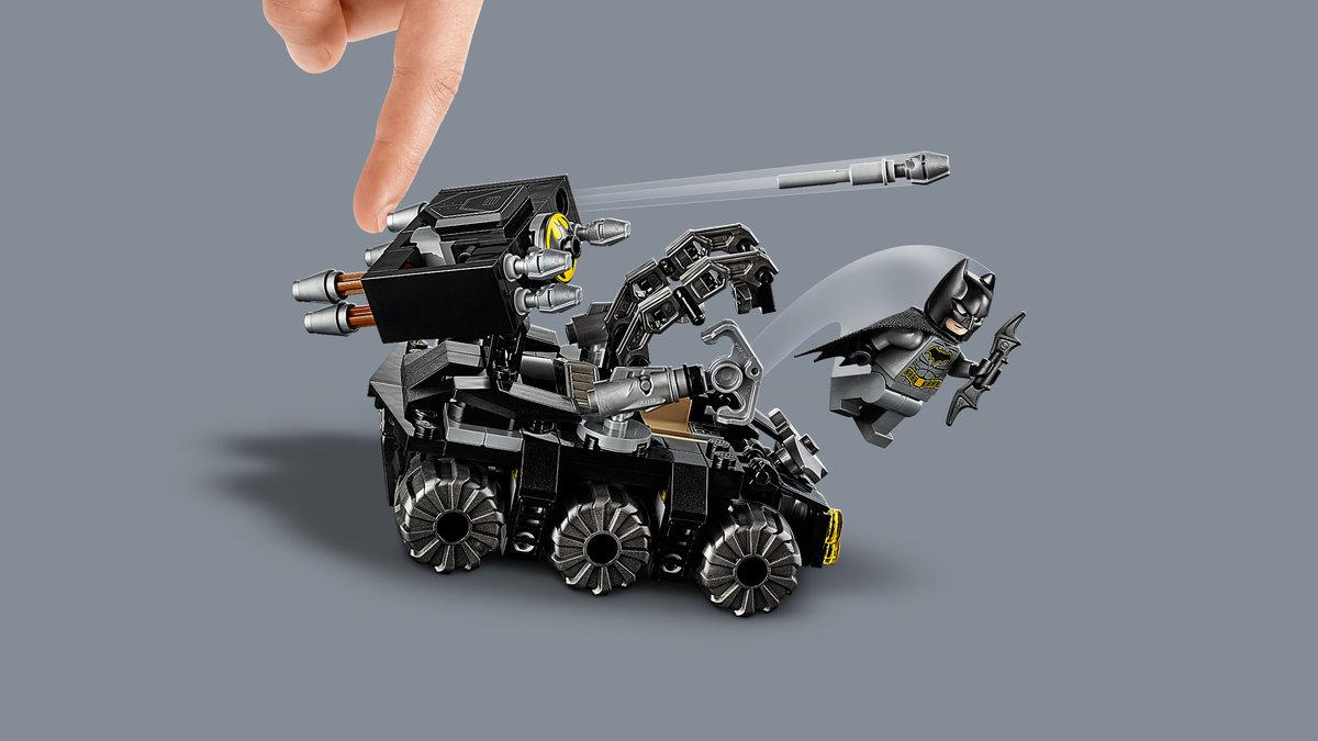 Lego Super Heroes, klocki Atak Clayface'a na Jaskinię Batmana, 76122