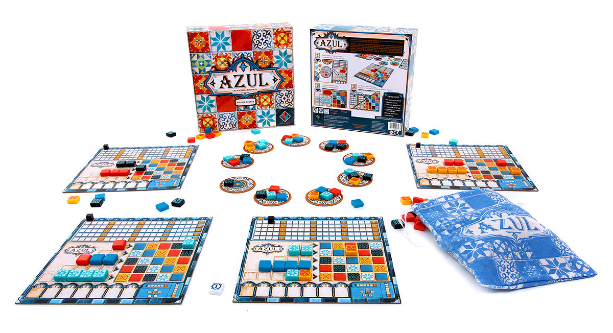 Lacerta, gra strategiczna Azul - | Sklep EMPIK.COM
