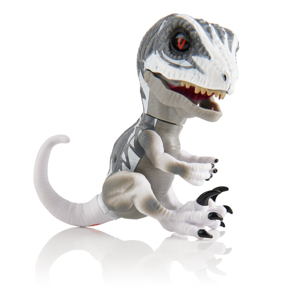 WowWee, Fingerlings Untamed, figurka interaktywna Raptor Ghost - WowWee