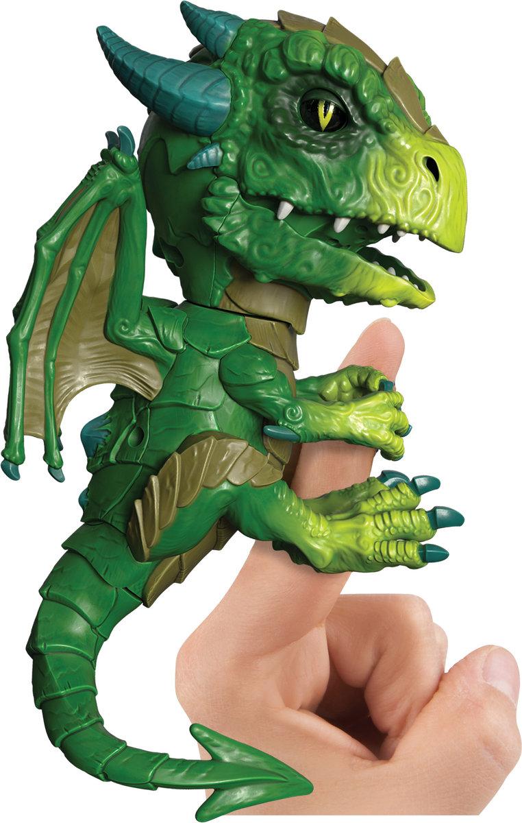 WowWee, Fingerlings Untamed, figurka interaktywna Smok Venom - WowWee