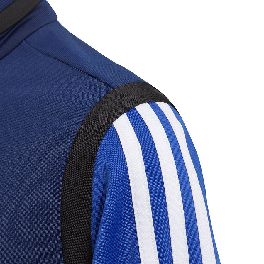 Adidas, Bluza piłkarska dziecięca, TIRO 19 PES JKT Y DT5789, niebieski, rozmiar 164