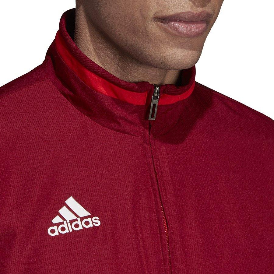 Adidas, Bluza piłkarska męska, TIRO 19 PRE JKT D95935, czerwony, rozmiar XL