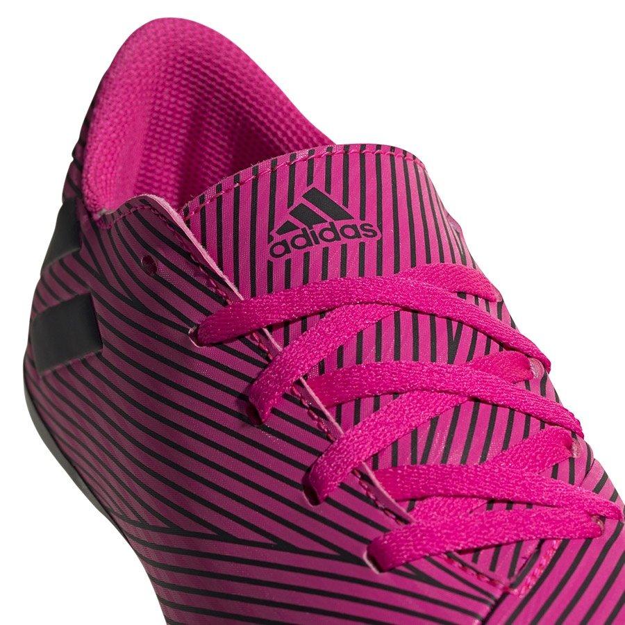 Adidas, Buty dziecięce, Nemeziz 19.4 FxG J F99949, różowy, rozmiar 35