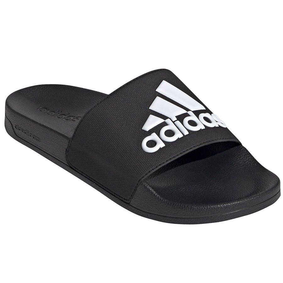 Adidas, Klapki męskie, Adilette Shower F34772, czarny, rozmiar 46