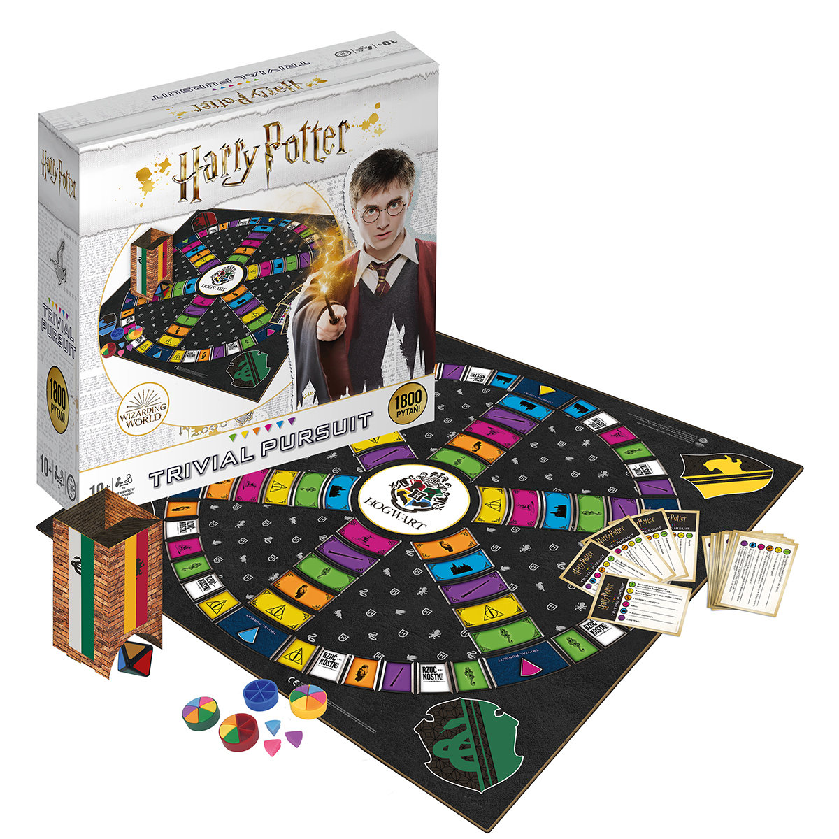 Trivial Pursuit Harry Potter Deluxe