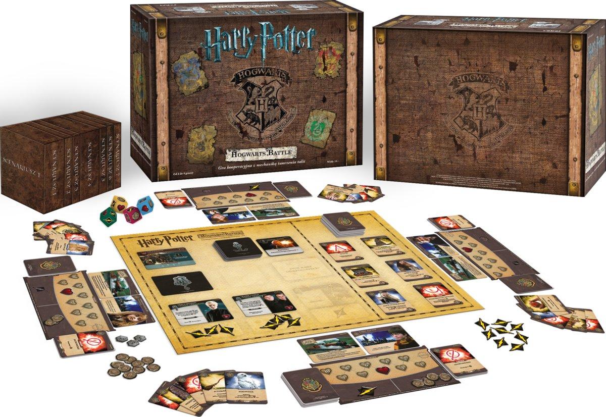 gra familijna Hogwarts Battle (edycja polska)