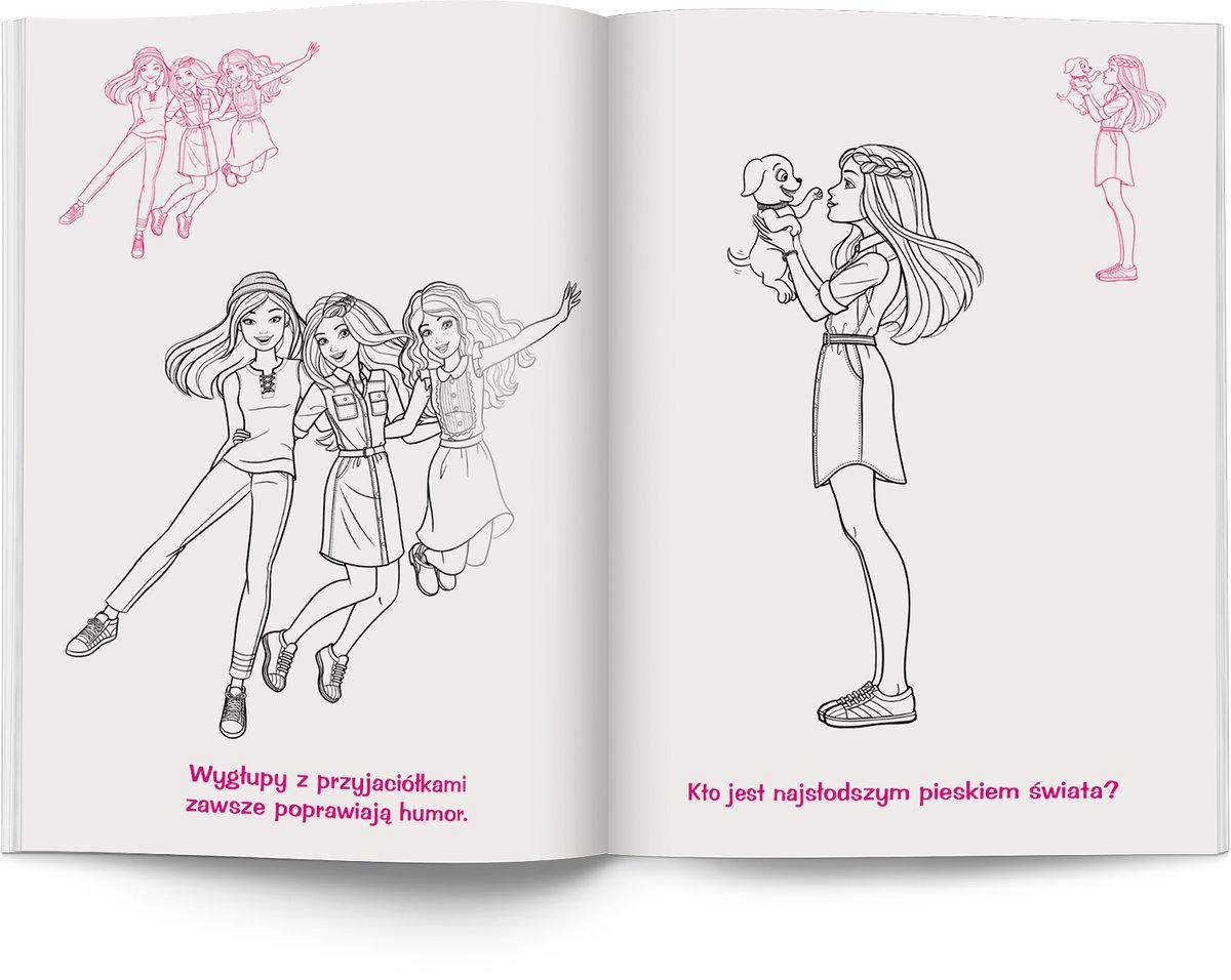 Barbie Dreamhouse Adventures Kolorowanka Z Naklejkami Opracowanie Zbiorowe Ksiazka W Sklepie Empik Com