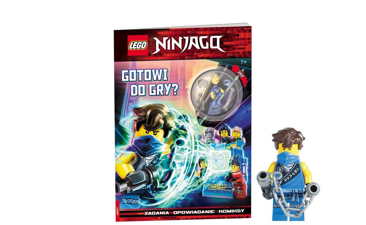 Lego Ninjago. Gotowi do gry - Opracowanie zbiorowe   Książka w Sklepie  EMPIK.COM