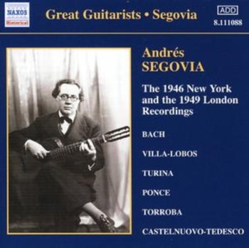 1946 New York and the 1949 London Recordings-Segovia Andres