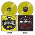 30/20 * 20/30 (winyl w kolorze żółtym)-Farben Lehre, The Analogs