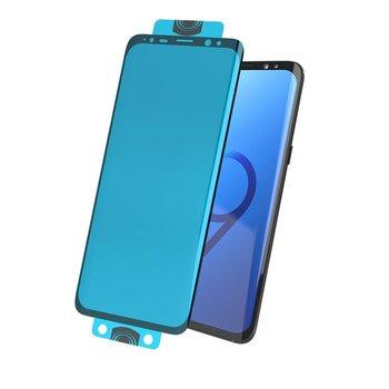 3D Edge Nano Flexi Glass folia szklana szkło hartowane na cały ekran z ramką Samsung Galaxy S20 czarny (in-display fingerprint sensor friendly)-Hurtel