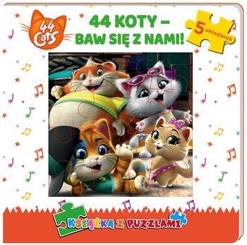 44 cats. Książka z puzzlami-Opracowanie zbiorowe