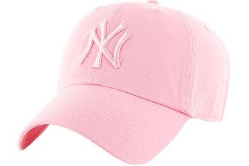 47 Brand New York Yankees MVP Cap B-RGW17GWSNL-RSA, Damskie, czapka z daszkiem, Różowy-47 Brand