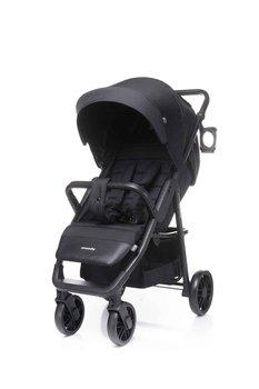 4baby, Moody, Wózek spacerowy, Black-4 Baby