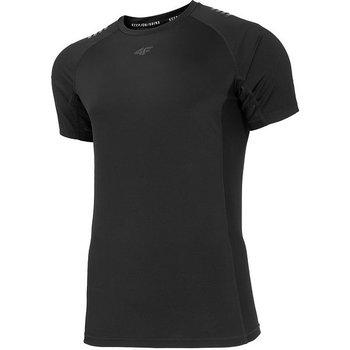 4F, Koszulka męska, H4L20-TSMF018 20S, czarny, rozmiar L-4F