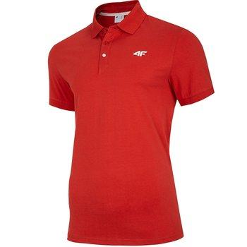 4F, Koszulka męska, NOSH4-TSM007 62S, czerwony, rozmiar M-4F