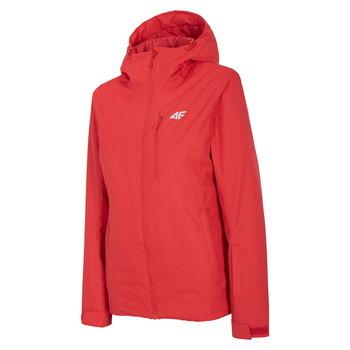 4F, Kurtka narciarska damska, H4Z20-KUDN001 62S, czerwony, rozmiar L-4F