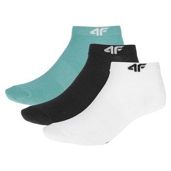 4F, Skarpety damskie, H4Z19-SOD001 27M, biały, rozmiar 35/35-4F