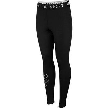4F, Spodnie damskie, NOSH4-SPDF001 20S, czarny, rozmiar S-4F