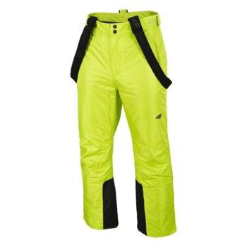 4F, Spodnie narciarskie, H4Z19-SPMN001 45S, zielone, rozmiar XL-4F